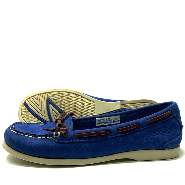 Orca Bay Bay Womens Deck Shoes Royal Blue - Size 4 (37)