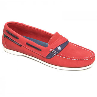 Dubarry Dubarry Hawaii Womens Deck Shoes Red