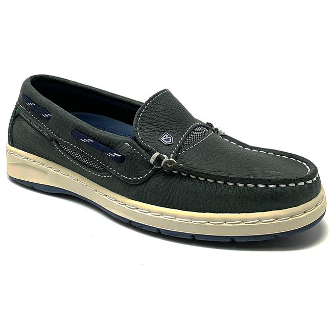 Dubarry Capri Womens Deck Shoes Navy - Size 4