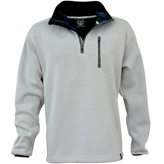 Main Deck Maindeck Knitted Fleece Light Grey