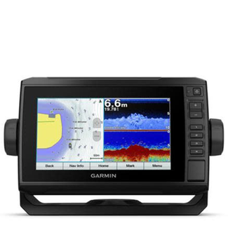 Garmin Garmin Echomap Plus 75cv Chartplotter, with UK & Ireland Chart, Exc Transducer