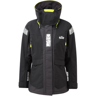 Gill Gill OS2 2021 Offshore Womens Jacket Black/Graphite