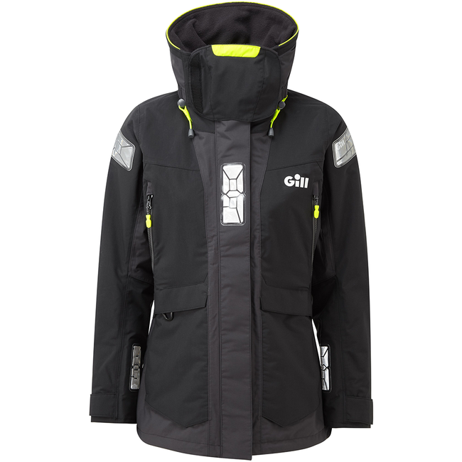 Gill Gill OS2 2020 Offshore Womens Jacket Black/Graphite