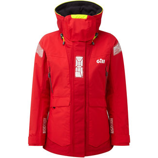 Gill Gill OS2 2019 Offshore Womens Jacket Red/Bright Red