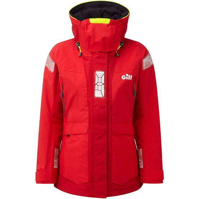 Gill OS2 2021 Offshore Womens Jacket Red/Bright Red