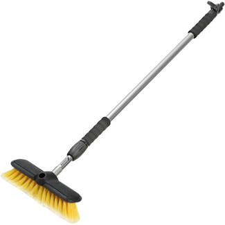 Pirates Cave Value Telescopic Deck Brush For Use with a Hose