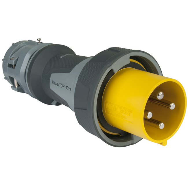 Marinco Plug with Gasketed Locking Ring 100A 125/250V