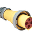 Marinco Connector with Gasketed Locking Ring For Inlet 100A 125/250V
