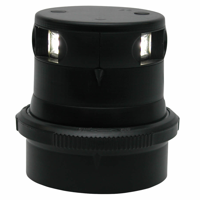 Aqua Signal Aqua Signal Series 34 LED 12/24V Masthead Anchor Light Black