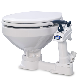 Jabsco Jabsco Manual Twist n Lock Toilet Regular Bowl