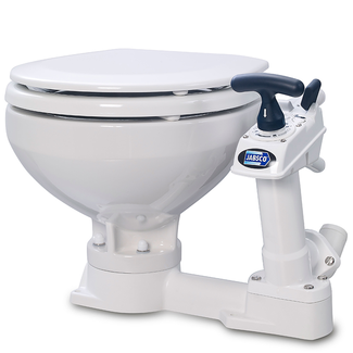 Jabsco Jabsco Manual Twist n Lock Toilet Compact Bowl
