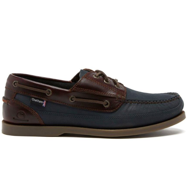 Chatham Rockwell II G2 Wide Fit Mens Deck Shoes Navy/Dark Seahorse 2021