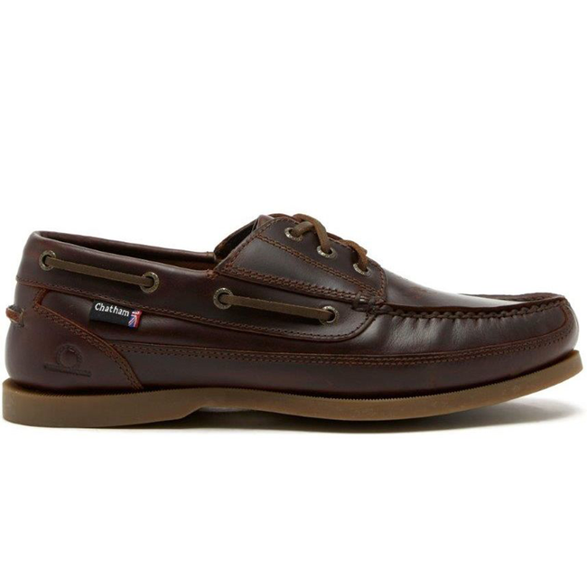 Chatham Rockwell II G2 Wide Fit Mens Deck Shoes Dark Seahorse 2021