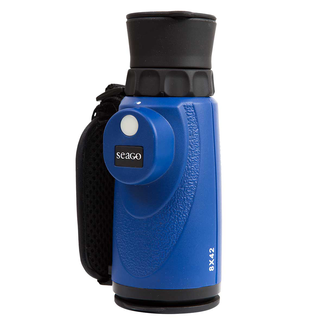 Seago Seago Waterproof Monocular With Built In Compass