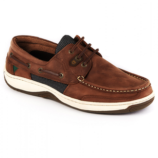 Dubarry Dubarry Regatta Mens Deck Shoes Chestnut 2020