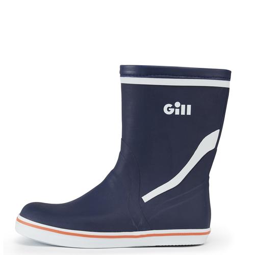 Gill Gill Junior Short Cruising Sailing Boots Dark Blue