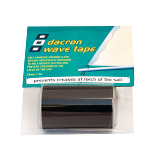 PSP PSP Dacron Wave Tape 75mm x 3m