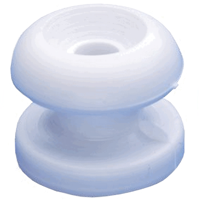 Eyes Lacing Buttons White 13mm