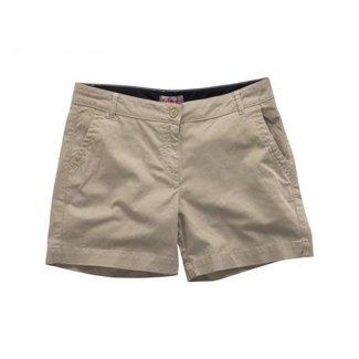 Gill Gill Womens Crew Shorts Khaki - Size 12