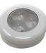 Flush Mount 12v LED Round Light with 3 Red LED
