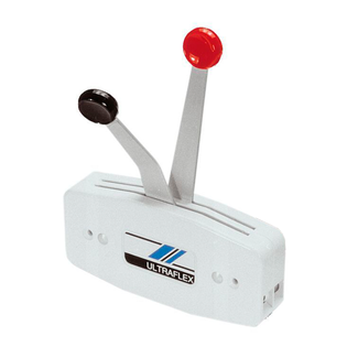 Ultraflex Ultraflex Two Lever Outboard Control Surface Mounted