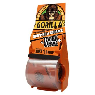 Gorilla Gorilla Packaging Tape Dispenser - 18M
