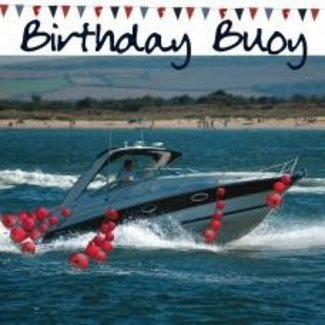 Nauticalia Dressed All Over Card - Birthday Buoy