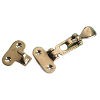 Pirates Cave Value Brass Security Fastener 105mm x 50mm