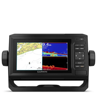 Garmin Garmin Echomap Plus 65cv Chartplotter,with UK& Ireland Chart, Exc Transducer