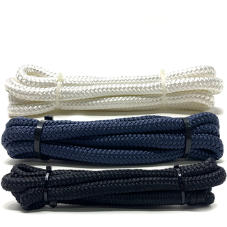 The Rope People Fender Lines with Pre-Spliced Loop 8mm Polyester Double Braid 1.5m