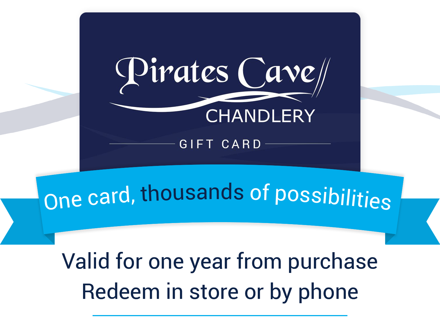 Pirates Cave Chandlery Gift Card