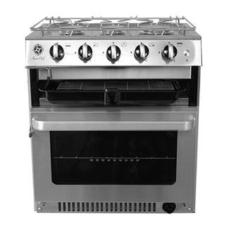 Aqua Chef Aqua Chef V5030 3 Burner Hob, Grill & Oven