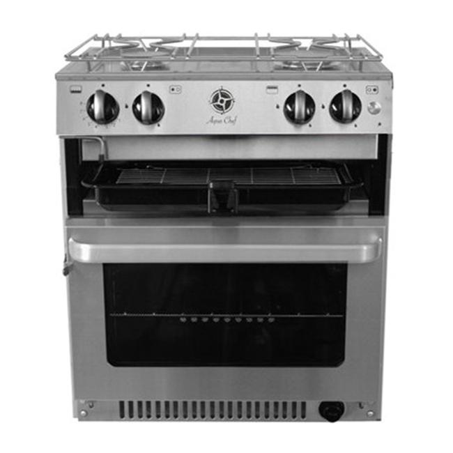 Aqua Chef Aqua Chef V5020 2 Burner Hob, Grill & Oven