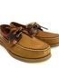 Apache Moose Port Mens Deck Shoes Sienna Saddle