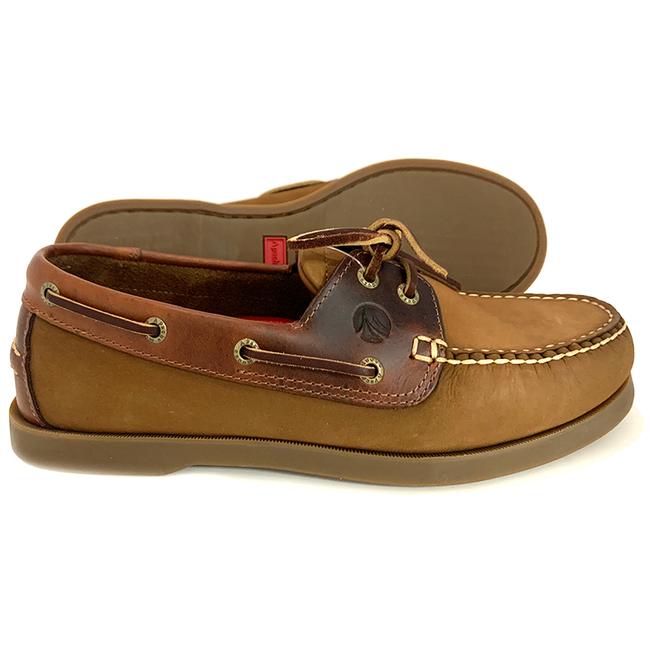 Apache Moose Port Mens Deck Shoes