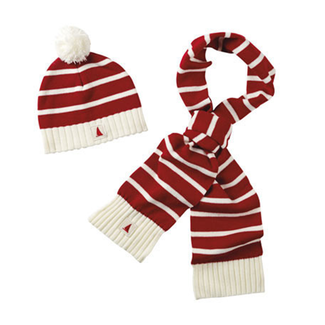 Musto Musto Nautical Gift Set Flash Red