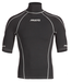 Musto Short Sleeve Rash Vest Black/Silver (X-Small)