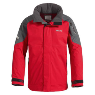 Musto BR1 Inshore Mens Jacket Red/Dark Grey