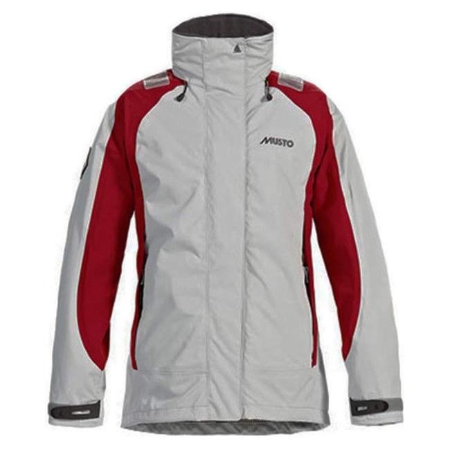 Musto Musto BR1 Inshore Womens Jacket Platinum/Red