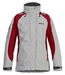 Musto BR1 Inshore Womens Jacket Platinum/Red Size 8 (Old Style)