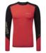 Henri Lloyd Energy Long Sleeve Rash Vest Coral Red