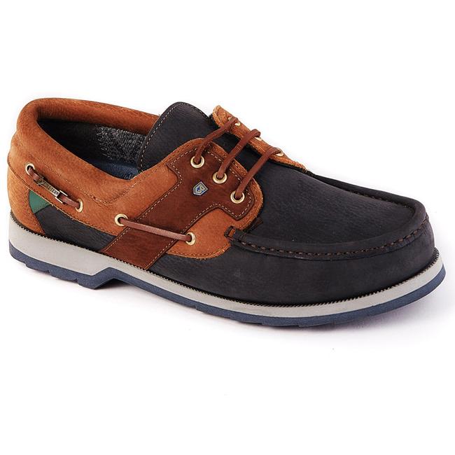 Dubarry Clipper Mens Deck Shoes Navy/Brown 2021