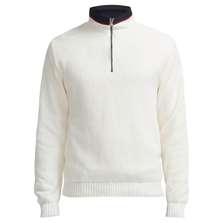 Holebrook Holebrook Classic Windproof Jumper Off White