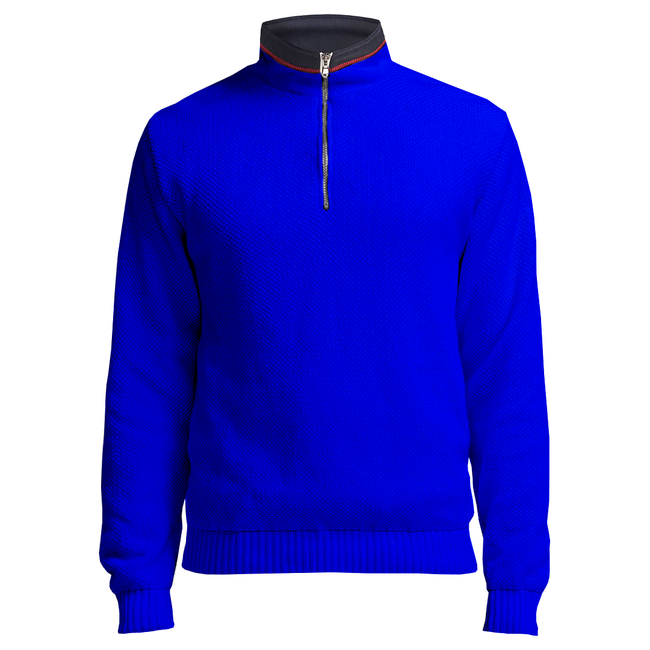 Holebrook Holebrook Classic Windproof Jumper Royal Blue