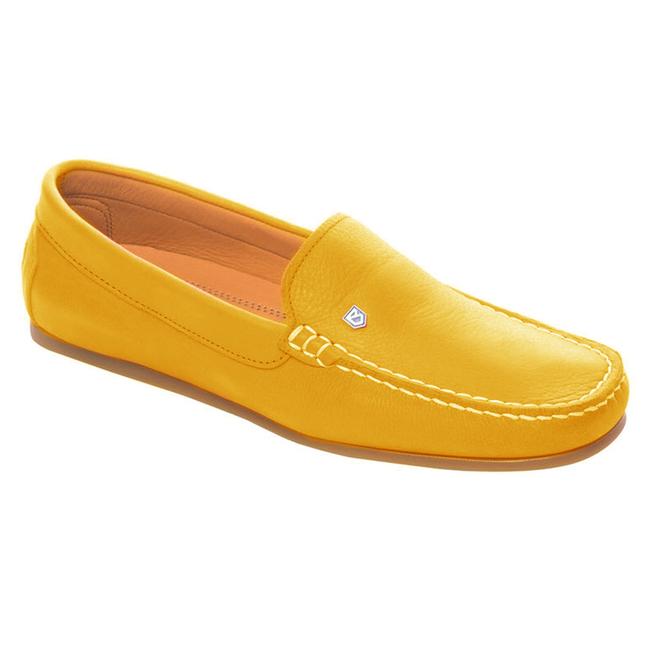 Dubarry Santorini Womens Deck Shoes Mustard