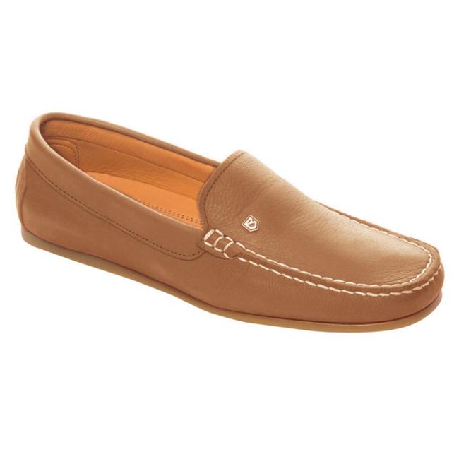 Dubarry Santorini Womens Deck Shoes Tan