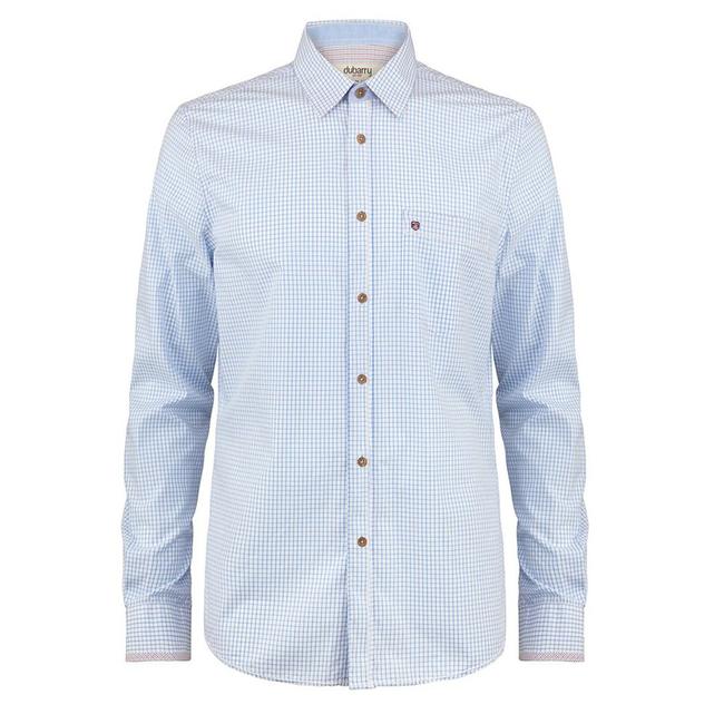 Dubarry Dubarry Castleknock Mens Long Sleeve Shirt Blue