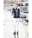 Dubarry Eglington Womens Lightweight Reversible Gilet Navy (Size 12)