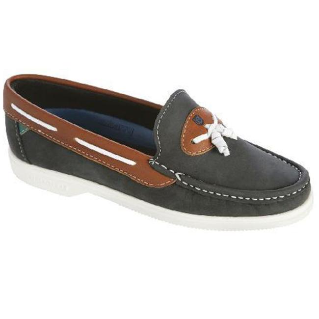 Dubarry Bermuda Womens Deck Shoes Denim Nubuck/Tan (Size 3.5)
