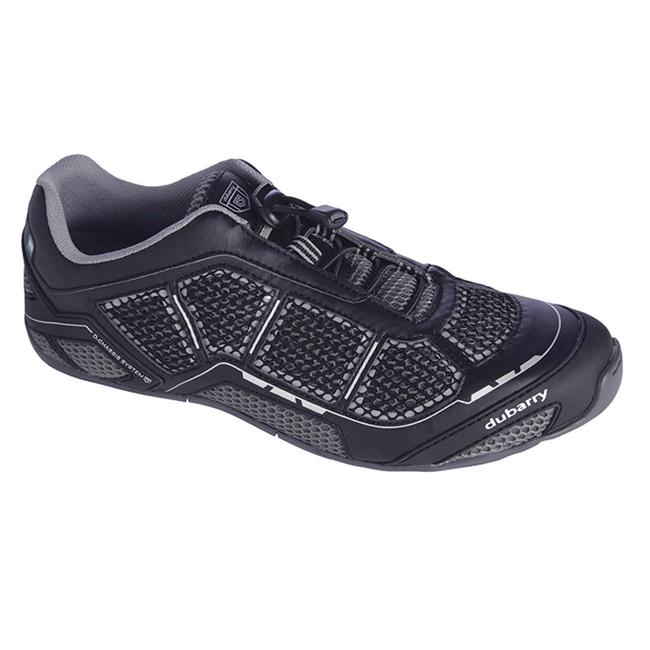 Dubarry Lahinch Mens Deck Shoes Carbon - Size 7.5 (40)